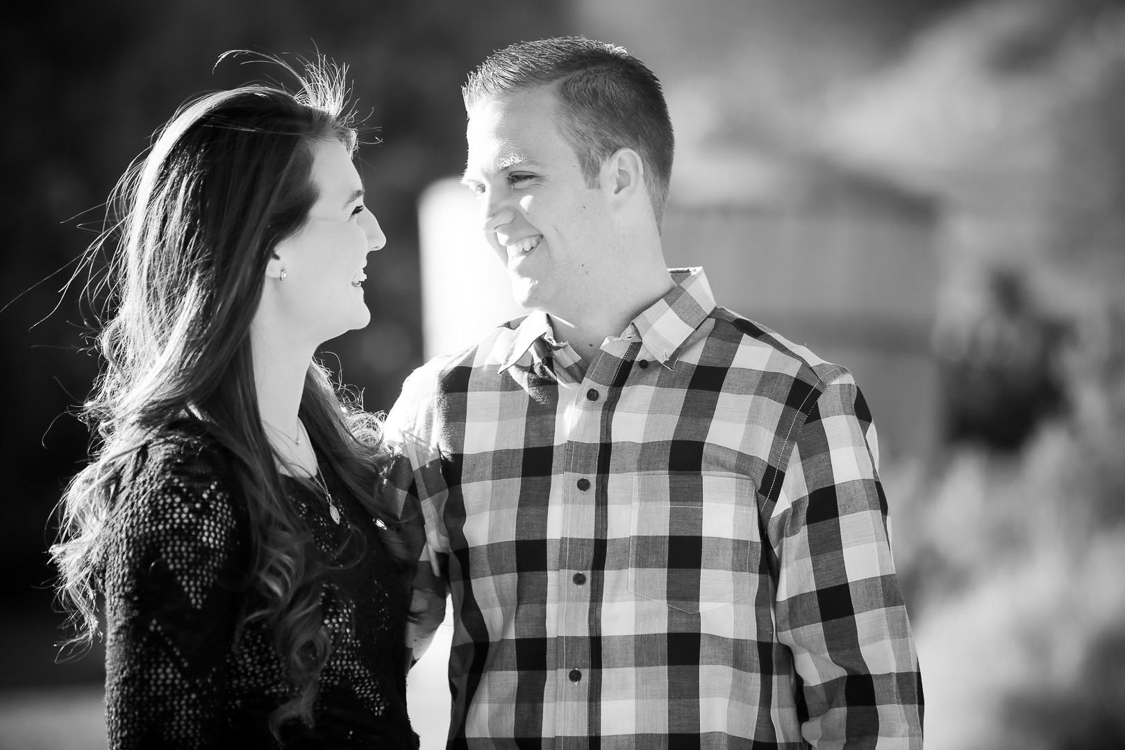Las Vegas Black & White Couples Portrait Photographer