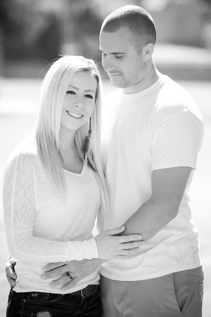 Las Vegas Black & White Family Portrait Photographer