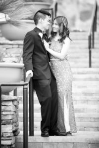 Las Vegas Black & White Couples Portrait Photographer