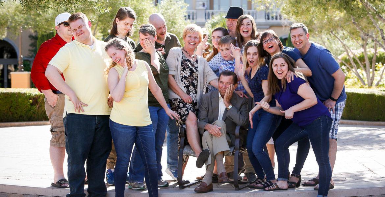 Family Portrait Photographer Las Vegas
