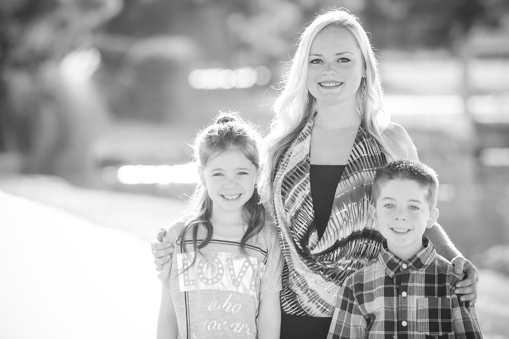 Las vegas bw family portrait photographer christian purdie photo