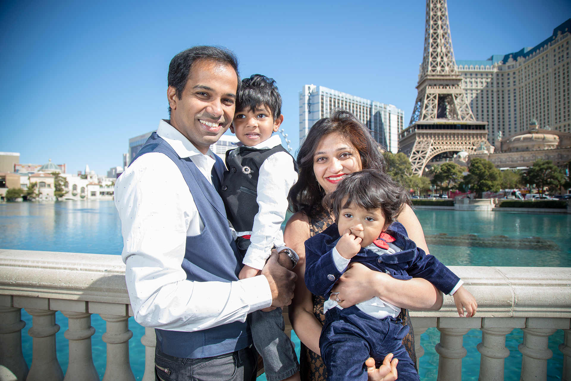 Las Vegas Paris Portrait Photographer